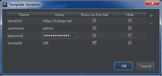 Add a trackerId variable